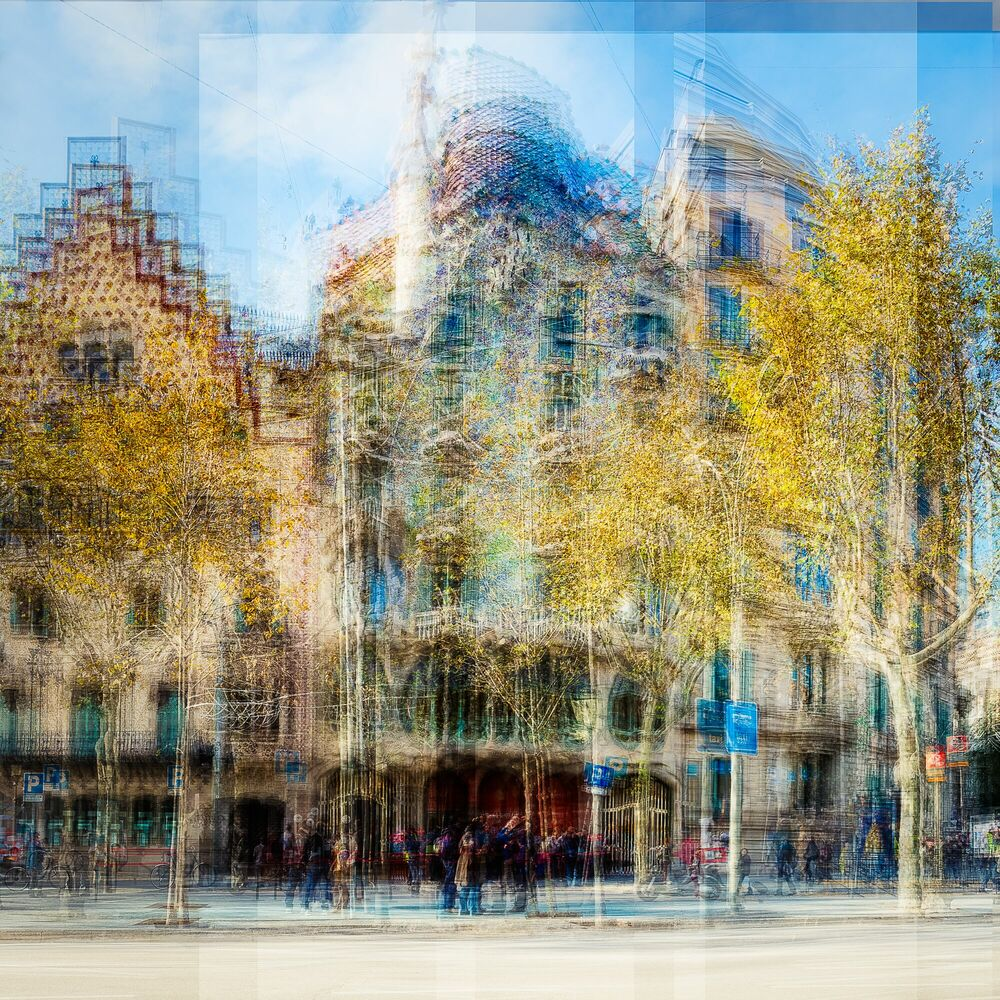 Photograph Barcelona Casa Batllo - LAURENT DEQUICK - Picture painting