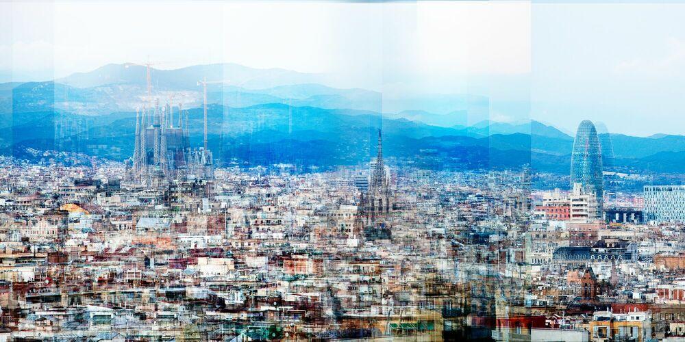 Fotografie Barcelona W Vista - LAURENT DEQUICK - Bildermalerei