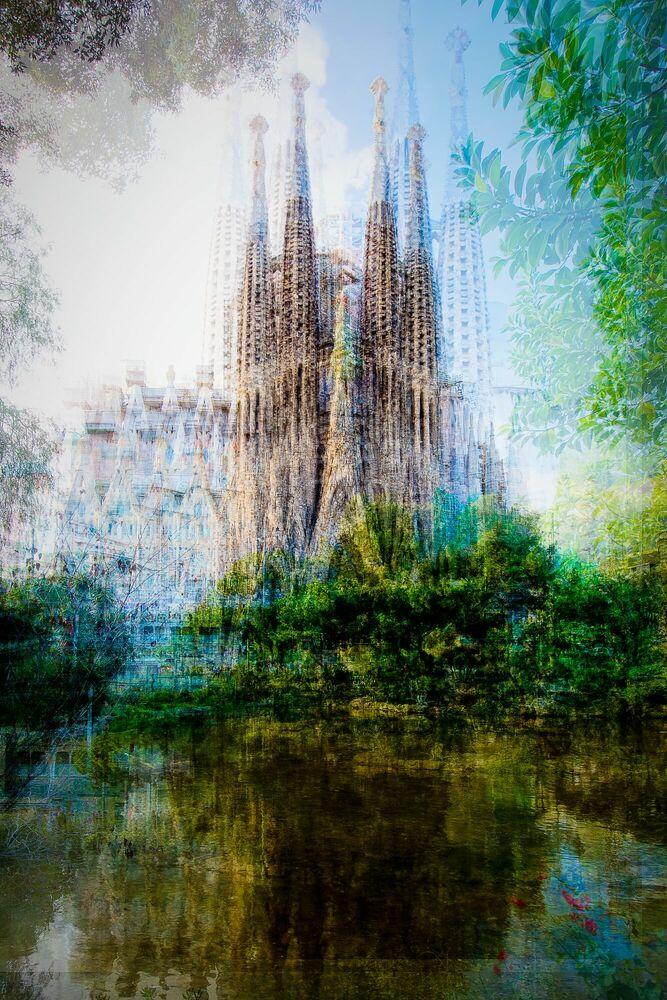 Fotografie Barcelona Placa de Gaudi - LAURENT DEQUICK - Bildermalerei
