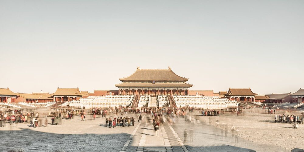 Fotografia BEIJING - HALL OF SUPREME HARMONY - LAURENT DEQUICK - Pittura di immagini