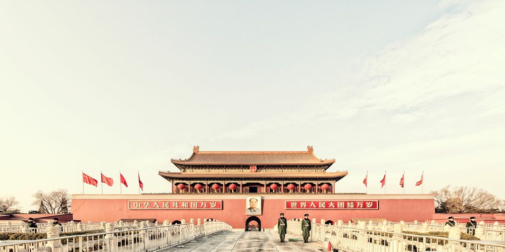 Fotografia BEIJING - TIAN ANMEN - LAURENT DEQUICK - Pittura di immagini
