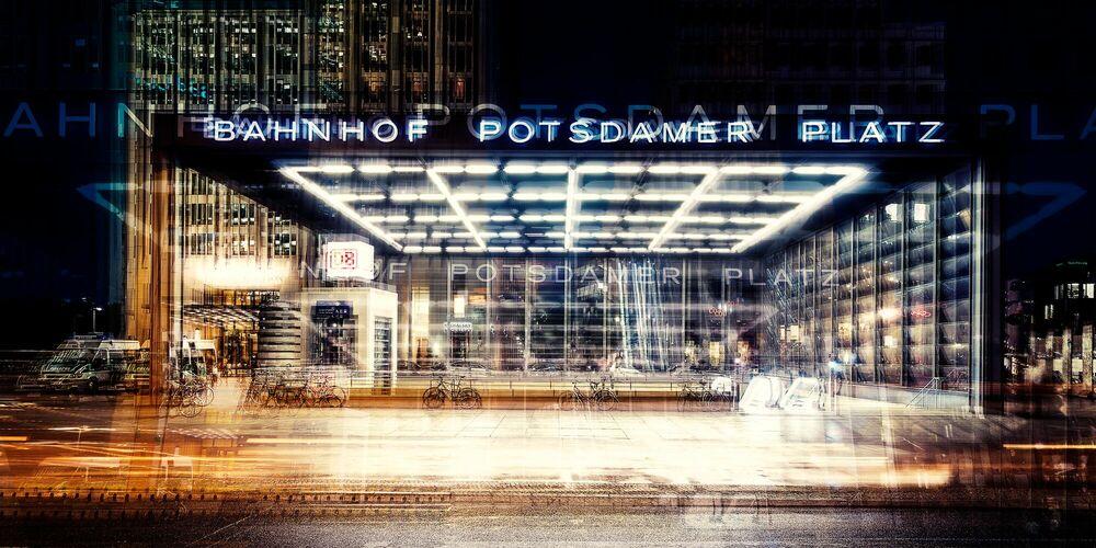 Fotografia Berlin Bahnhof Potsdamer Platz - LAURENT DEQUICK - Pittura di immagini