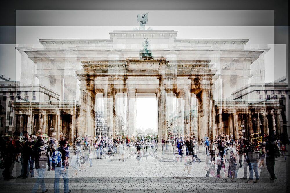 Fotografie Berlin Brandenbourg Tor - LAURENT DEQUICK - Bildermalerei