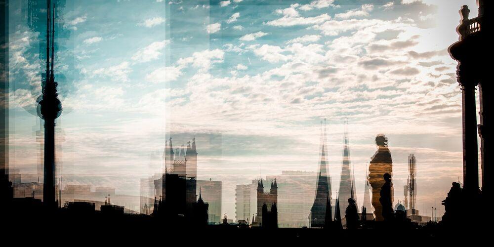 Photographie Berlin de ma fenêtre - LAURENT DEQUICK - Tableau photo