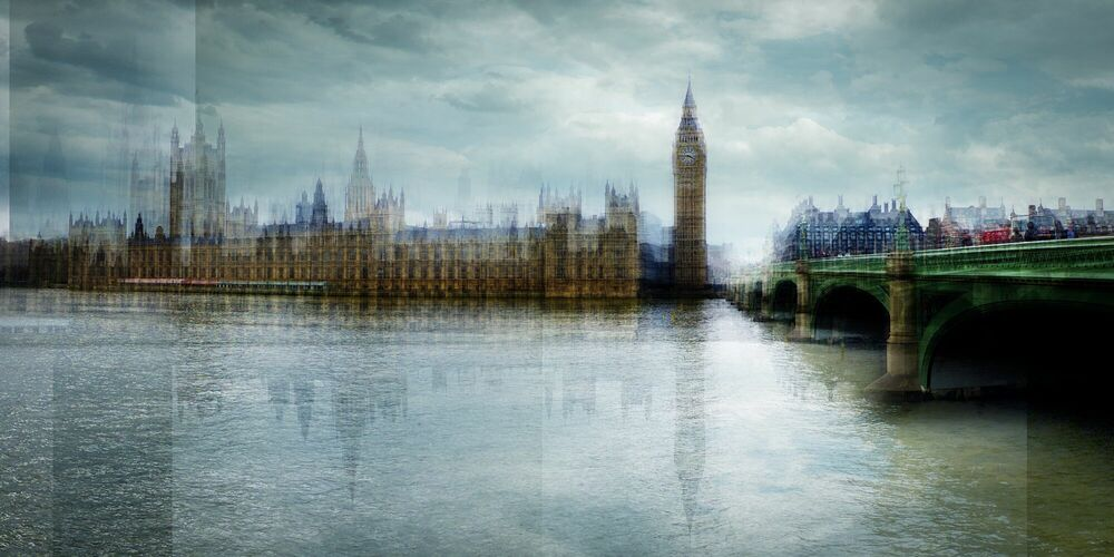 Fotografie Big Ben - LAURENT DEQUICK - Bildermalerei