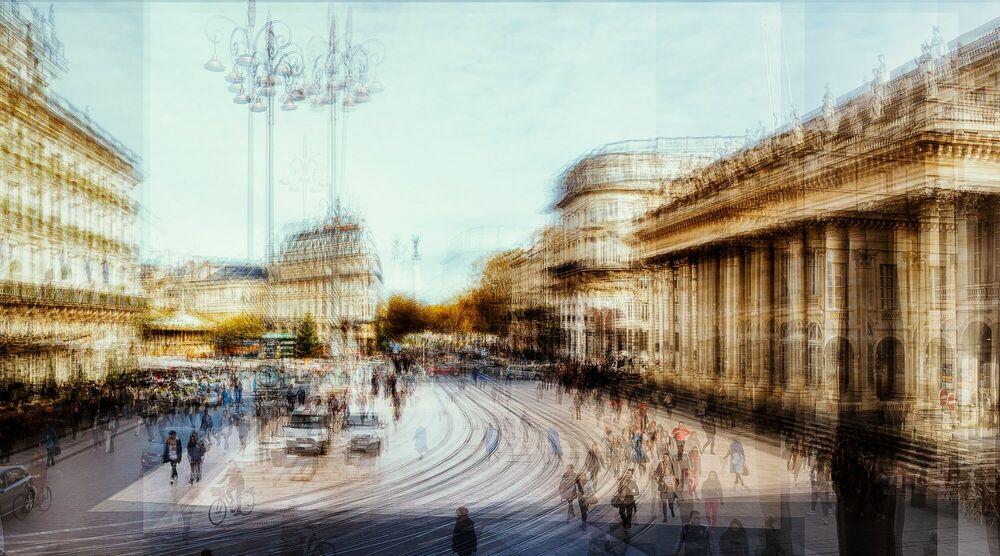 Photograph BORDEAUX  COMEDIE - LAURENT DEQUICK - Picture painting