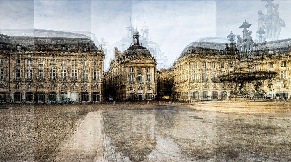 Photograph BORDEAUX  PLACE DE LA BOURSE - LAURENT DEQUICK - Picture painting