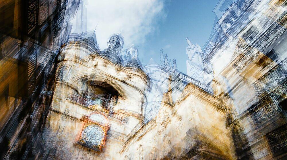 Photograph BORDEAUX  SOUS LA CLOCHE - LAURENT DEQUICK - Picture painting