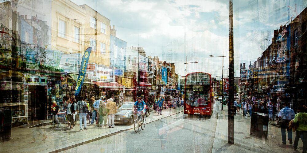 Fotografia Camden Town I - LAURENT DEQUICK - Pittura di immagini