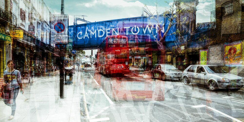 Photograph Camden Town III - LAURENT DEQUICK - Picture painting