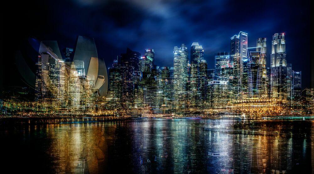 Photographie CDB at night - LAURENT DEQUICK - Tableau photo