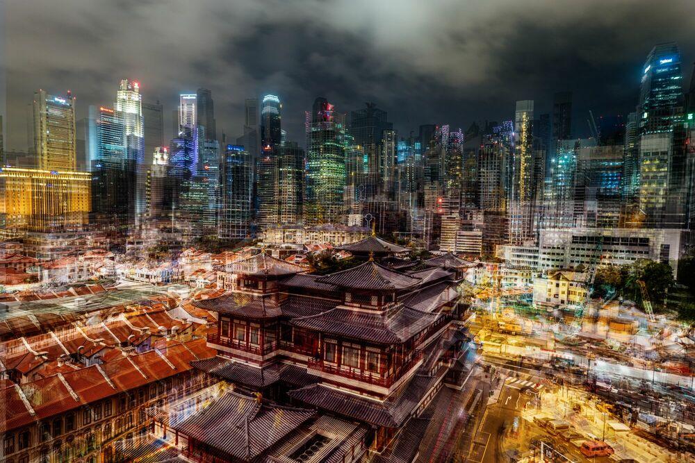 Photographie China Town - LAURENT DEQUICK - Tableau photo