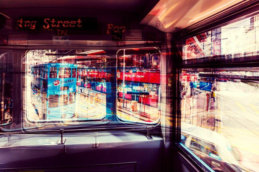 Photograph FOO MING STREET TRAM - LAURENT DEQUICK - Picture painting