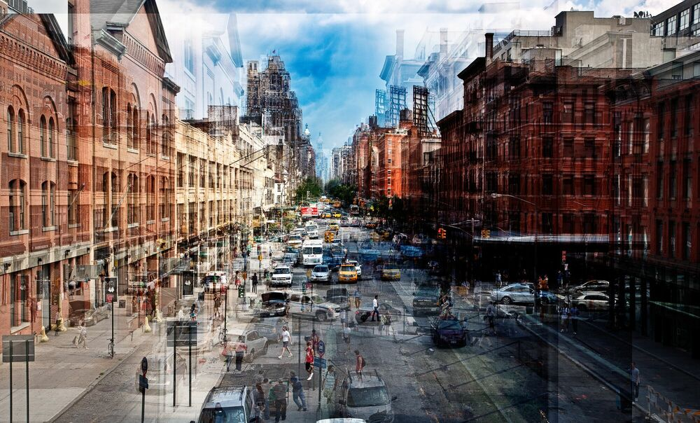 Photograph From the High Line - LAURENT DEQUICK - Picture painting