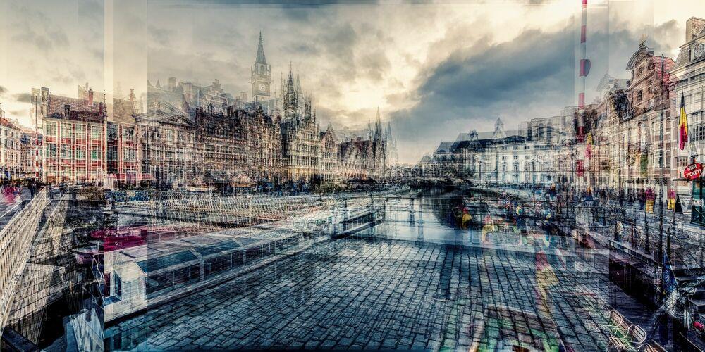 Fotografie GENT GRASLEI - LAURENT DEQUICK - Bildermalerei
