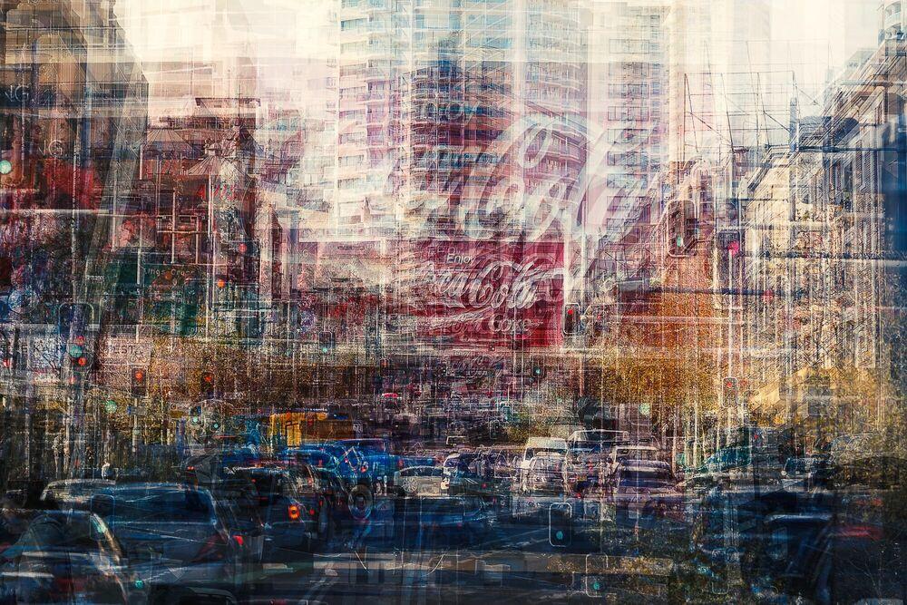 Fotografia Going up William Street - LAURENT DEQUICK - Pittura di immagini