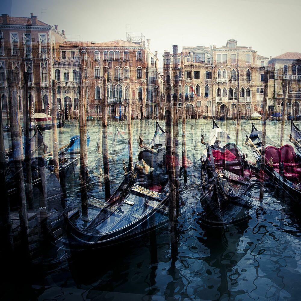 Fotografie Gondola - LAURENT DEQUICK - Bildermalerei