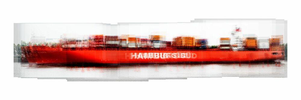 Photograph Hamburg Süd - LAURENT DEQUICK - Picture painting