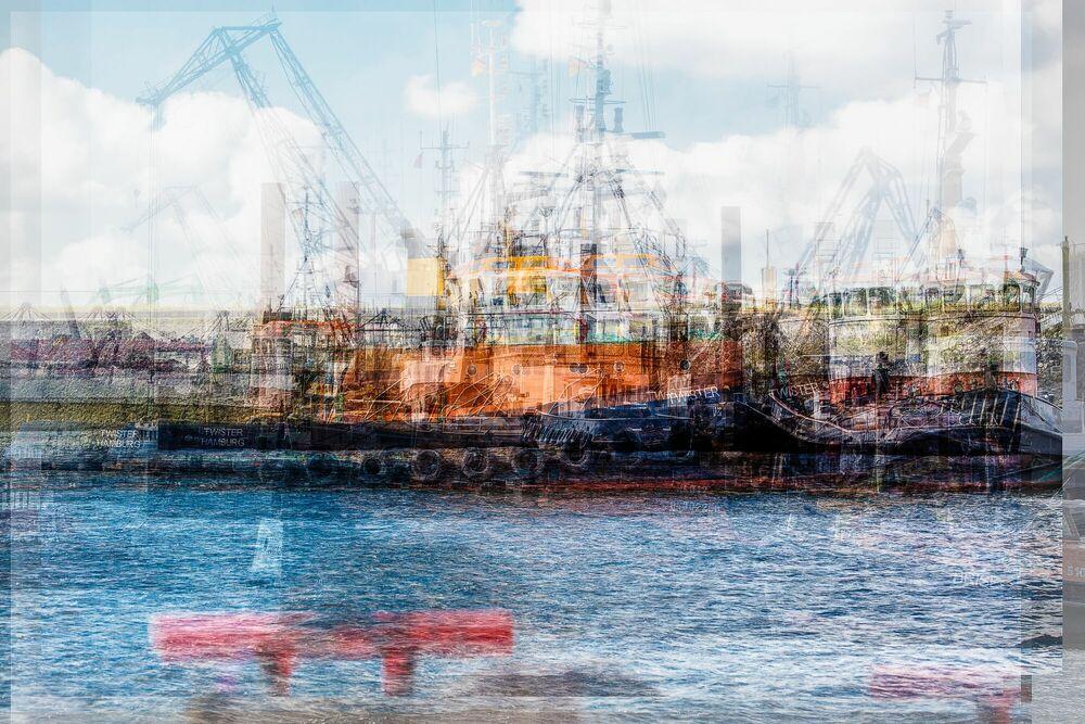 Photograph Hamburg Twister - LAURENT DEQUICK - Picture painting