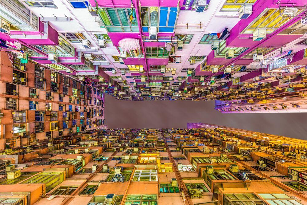 Fotografie HIGH DENSITY TAK LEE BUILDING - LAURENT DEQUICK - Bildermalerei