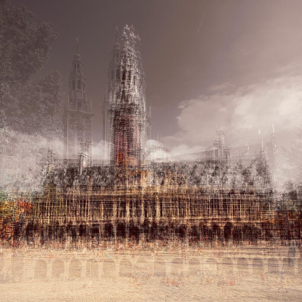 Fotografie LEUVEN BIBLIOTHEEK - LAURENT DEQUICK - Bildermalerei