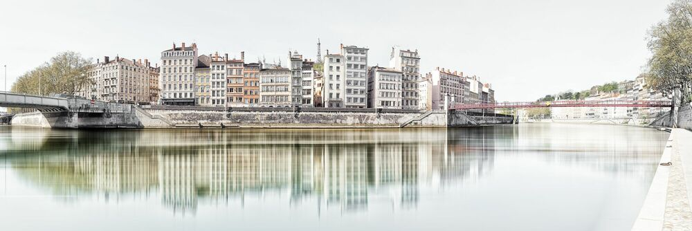 Photographie LYON - QUAI DE BONDY - LAURENT DEQUICK - Tableau photo