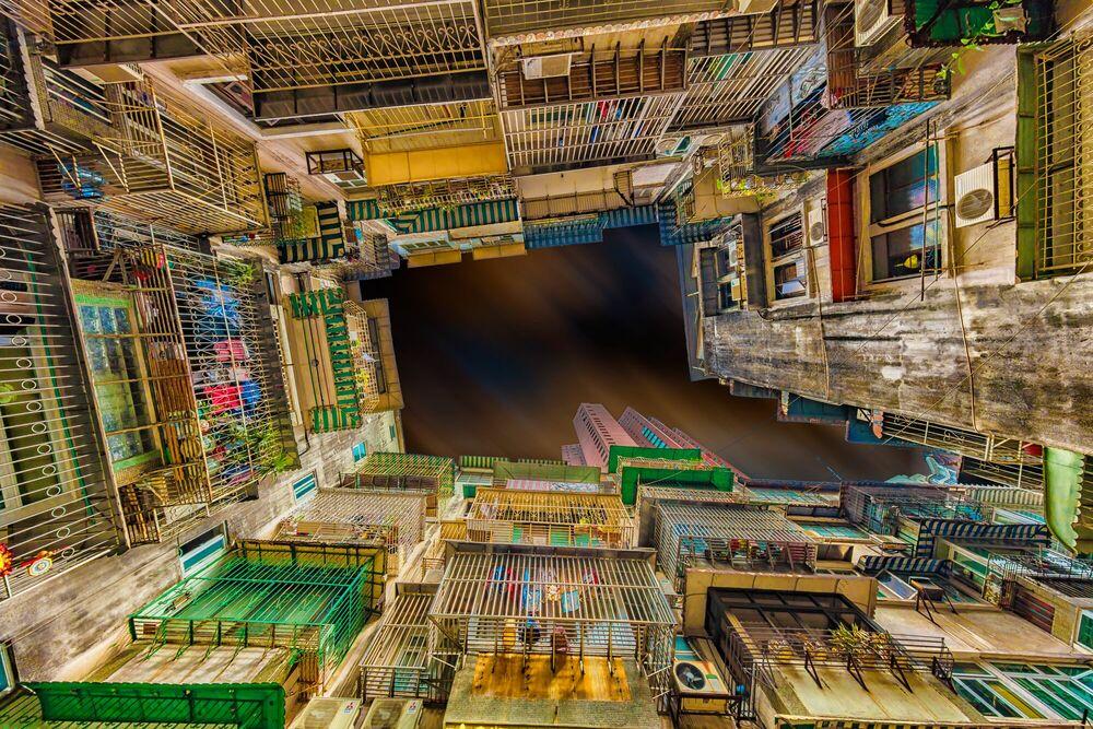 Fotografia MACAO DENSITY - LAURENT DEQUICK - Pittura di immagini