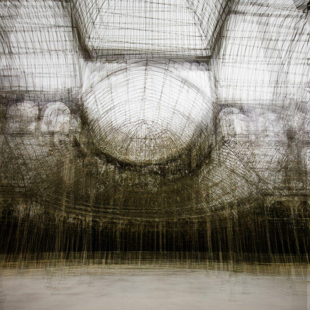 Fotografie Madrid Palacio de Cristal - LAURENT DEQUICK - Bildermalerei