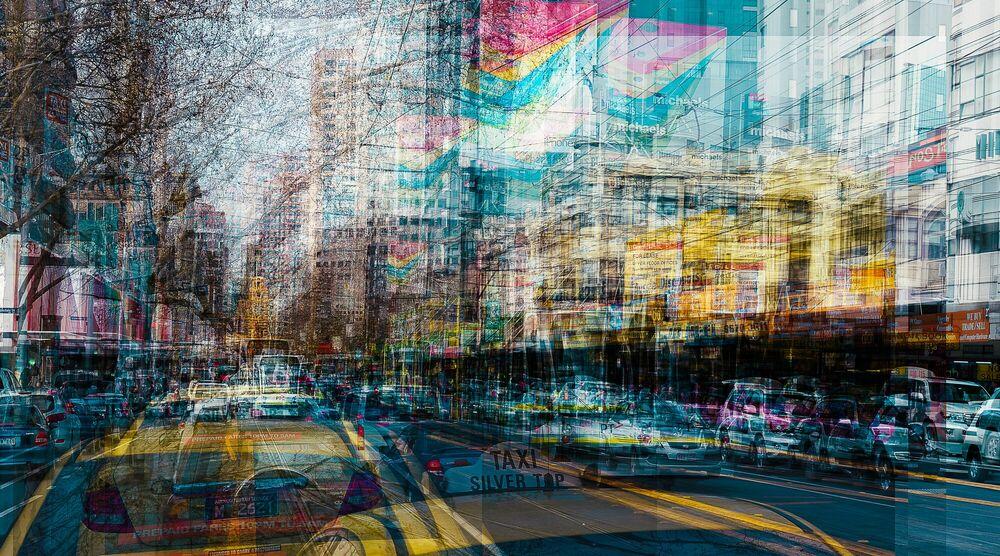 Fotografie Melbourne BROUKE St II - LAURENT DEQUICK - Bildermalerei