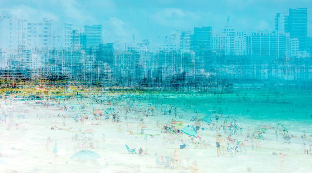 Photographie MIAMI - SOUTH BEACH - LAURENT DEQUICK - Tableau photo