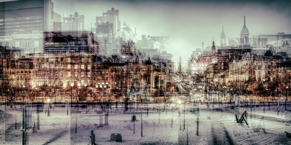 Fotografia MONTREAL - PLACE JACQUES CARTIER I - LAURENT DEQUICK - Pittura di immagini