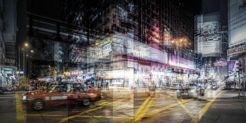 Fotografia Nathan Road - LAURENT DEQUICK - Pittura di immagini
