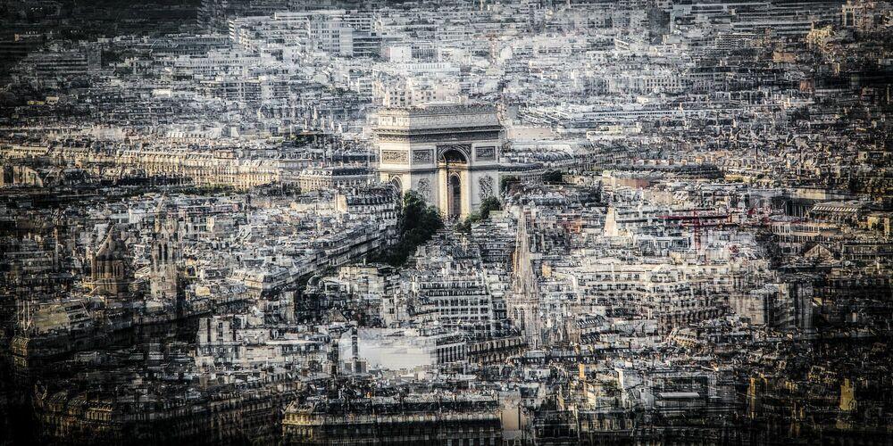 Photographie Paris Etoile II - LAURENT DEQUICK - Tableau photo