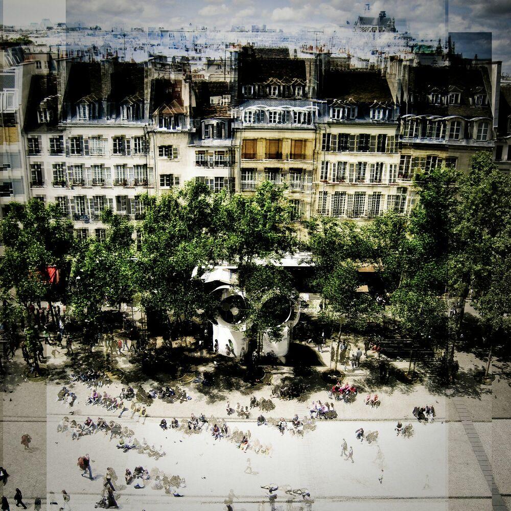 Photographie Paris rue St Martin - LAURENT DEQUICK - Tableau photo