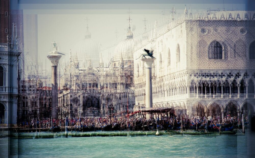 Fotografia Piazetta - LAURENT DEQUICK - Pittura di immagini