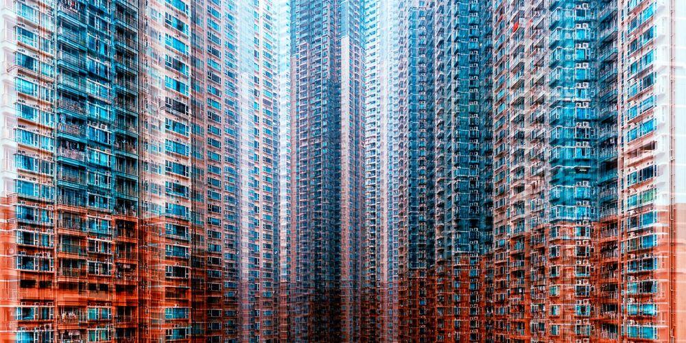 Photograph PUBLIC HOUSING - LAURENT DEQUICK - Picture painting