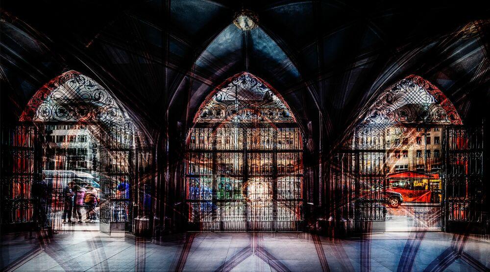 Fotografia Rathaus - LAURENT DEQUICK - Pittura di immagini