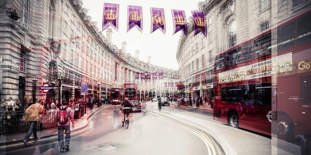 Fotografie Regent Street - LAURENT DEQUICK - Bildermalerei