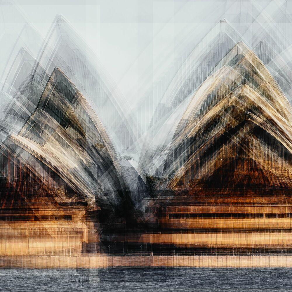 Photographie Sails on the Harbour - LAURENT DEQUICK - Tableau photo
