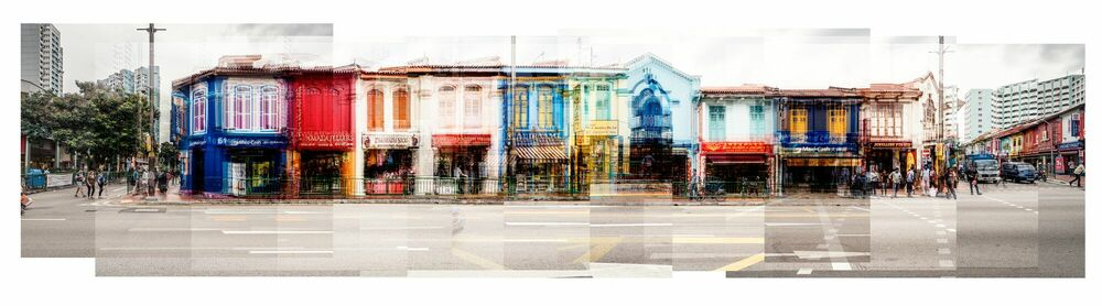 Photograph Serangoon Road - LAURENT DEQUICK - Picture painting