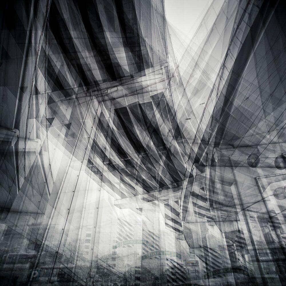 Fotografia SHANGHAI  ZHONGSHAN ROAD - LAURENT DEQUICK - Pittura di immagini