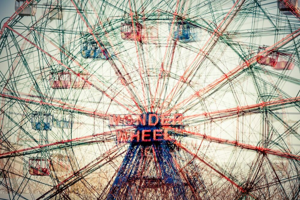 Fotografia STIR WONDER WEEL I - LAURENT DEQUICK - Pittura di immagini
