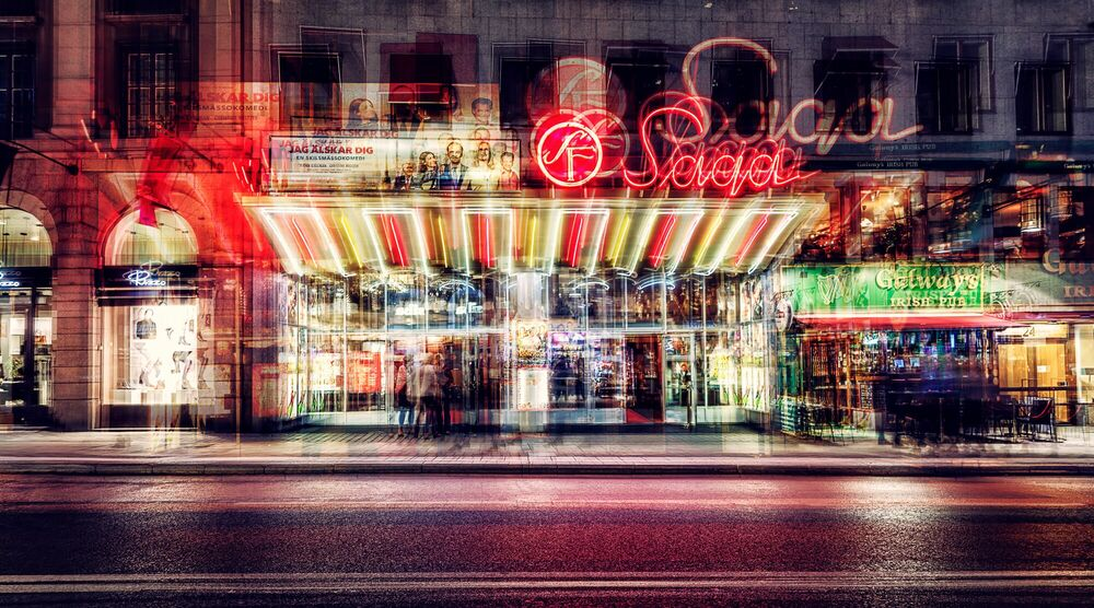 Fotografia STOCKHOLM - SAGA - LAURENT DEQUICK - Pittura di immagini