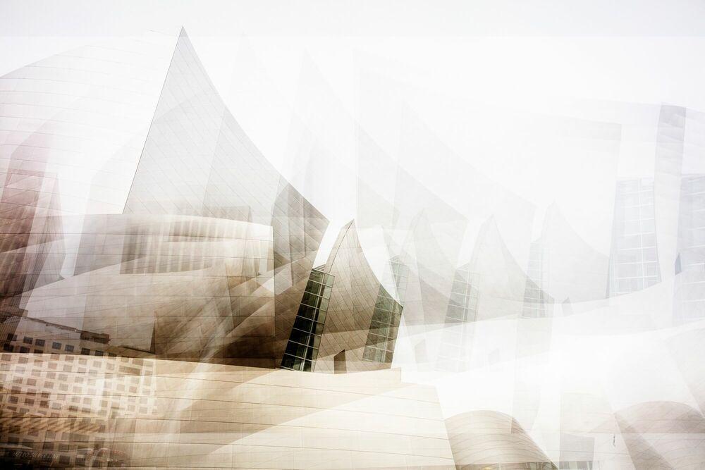 Fotografia STUNNING WALT DISNEY CONCERT HALL - LAURENT DEQUICK - Pittura di immagini