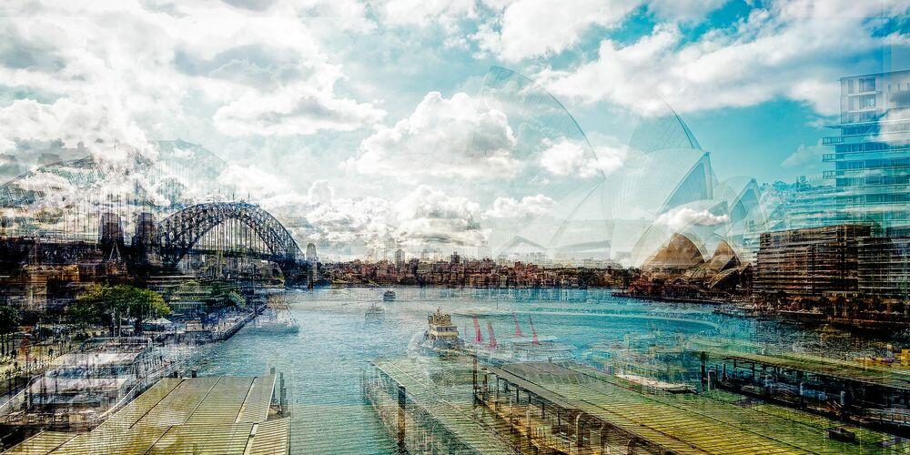 Photograph Sydney Circular Quay - LAURENT DEQUICK - Picture painting