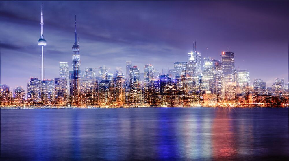 Photograph TORONTO - FROM THE LAKE - LAURENT DEQUICK - Picture painting