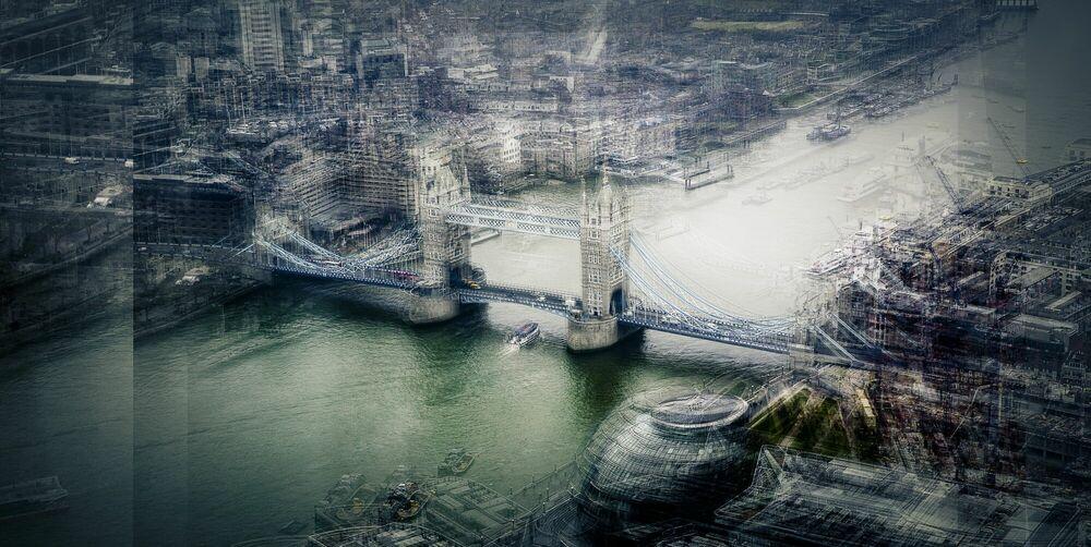 Photographie Tower Bridge - LAURENT DEQUICK - Tableau photo