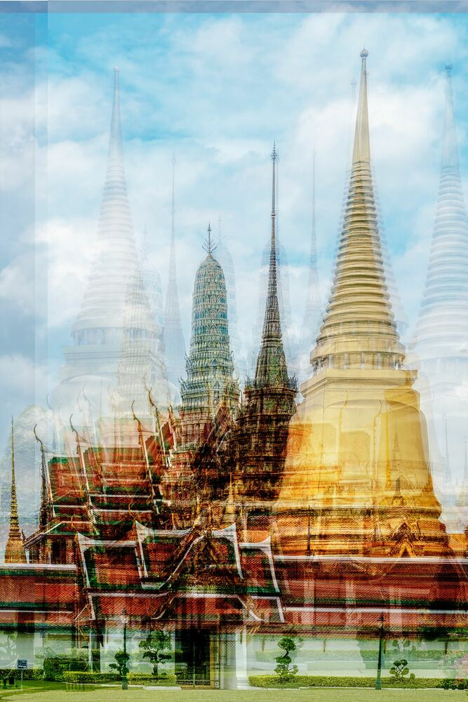 Photograph Wat Phra Kaeo - LAURENT DEQUICK - Picture painting