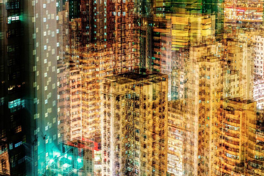 Fotografia Yau Ma Tei - LAURENT DEQUICK - Pittura di immagini