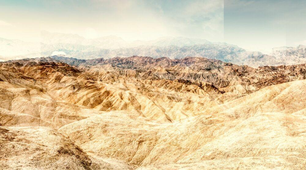 Fotografie ZABRISKIE POINT - CRUMBLING LAND - LAURENT DEQUICK - Bildermalerei